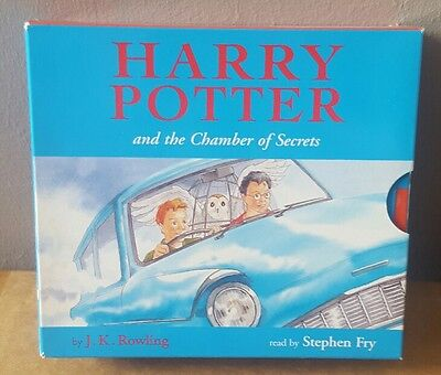 Harry Potter and the Chamber Of Secrets (CD Audiobook) Read by Stephen Fry