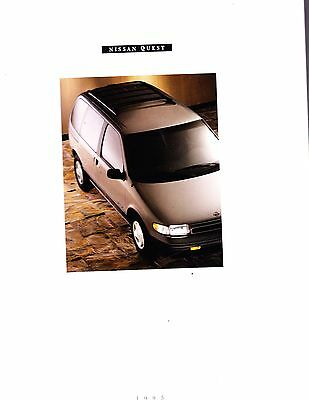 1993 Nissan Quest Original Factory  Prestige Sales Brochure  26 Pages