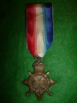 WW1 1914/15 Star Medal to The Royal Army Medical Corps, 1914 W. McNaughton