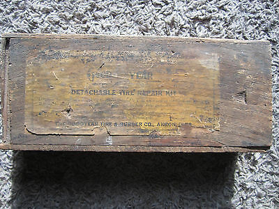 GOODYEAR tire repair kit  Vintage Rare Antique