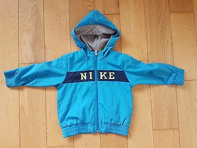 Nike Blue Tracksuit Top/ Hoodie Boys  Size 12-18 Months