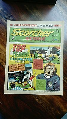 Scorcher and Score Comic (26th February 1972) Vintage