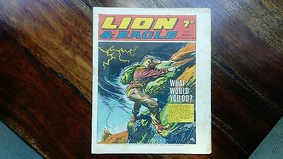 LION and EAGLE Comic - 16th August 1969 Vintage 60s Comic