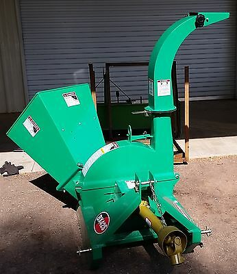 Tractor PTO Driven 3PT Hitch Wood Chipper Shredder