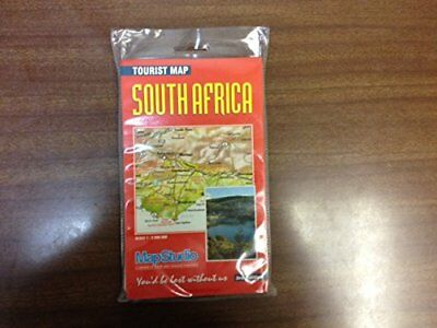 Tourist Map: South Africa, Map Studio Paperback Book The Cheap Fast Free Post