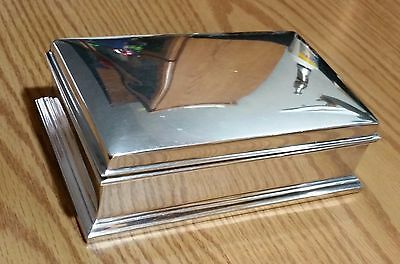 Sterling Silver Gorham Humidor Trinket Box 318 grams Excellent Condition