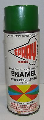 Vintage Spray Products Spray Paint Can John Deere Green