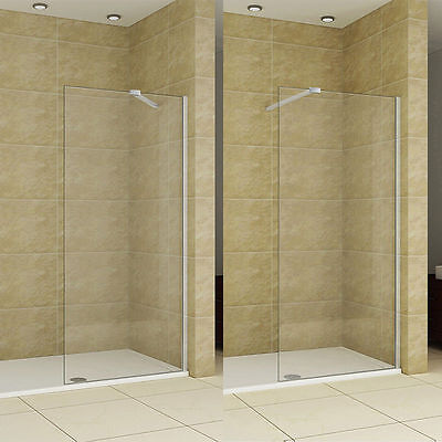 1950 Walk in Wet Room Shower Enclosure Screen Cubicle NANO Glass Return Panel ND