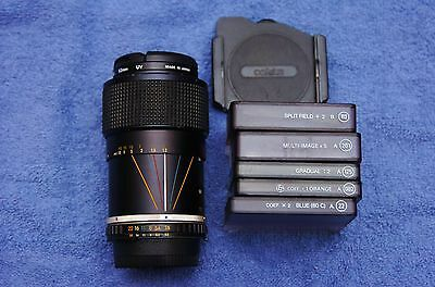 Nikon Series E 36-72mm f3.5 AI-S zoom with filters