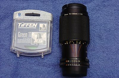 Nikon Series E 75-150mm f3.5 AI-S zoom with filters