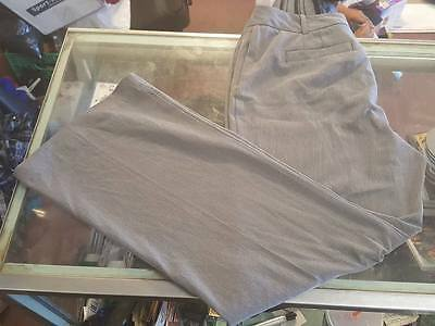 Ladies Size 12 Grey Dress Pants by: Worthington ~ Curvy Fit ~ Gray