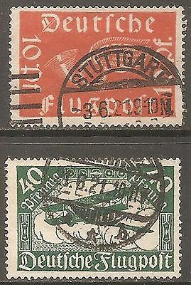 1919 Germany Air Set of 2 SG 111-112 Used