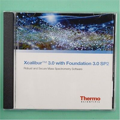 NEW Thermo Scientific Xcalibur 3.0 with Foundation 3.0 SP2 MS Software