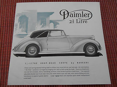 CATALOGUE DAIMLER   ( ref 45 )