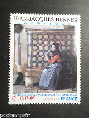FRANCE 2008, timbre 4286 TABLEAU HENNER, ART, neuf** MNH PAINTING