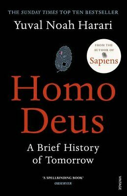 Homo Deus: A Brief History of Tomorrow by Harari, Yuval Noah Book The Cheap Fast