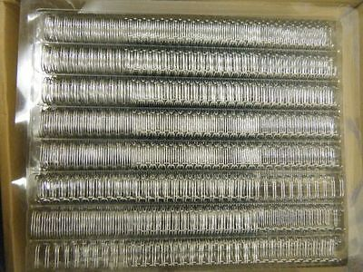 Box 250 GBC Wire Binding Elements 3:1 Pitch Size A5 No7 Silver 11mm RE510797