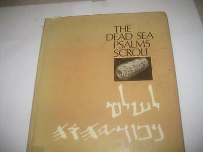 The Dead Sea Psalms Scroll. by J. A Sanders English and Hebrew on opposite pages