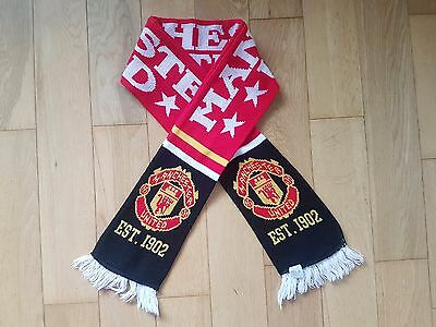 Manchester United Double Sided Scarve 1902