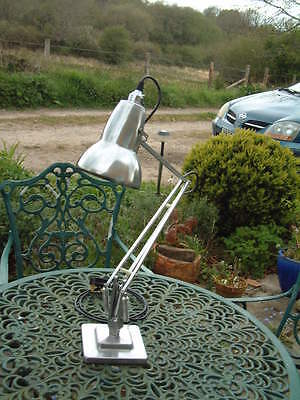 A Superb & Original 1227 HERBERT TERRY ANGLEPOISE Lamp Stripped & Polished.