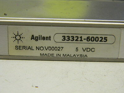 Hp Agilent 33321-60025 DC-3Ghz Step Attenuator 0-70dB