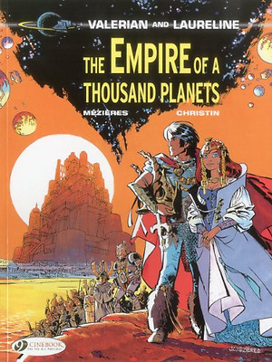 Valerian Vol.2: The Empire of a Thousand Planets - Paperback NEW Christin, Jean-