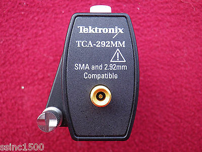 Tektronix TCA-292MM Tekconnect Adapter with SMA and 2.92mm Compatible