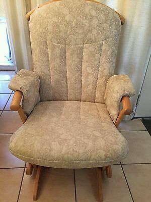 Dutailier Rocker Glider Wood Chair Nursery