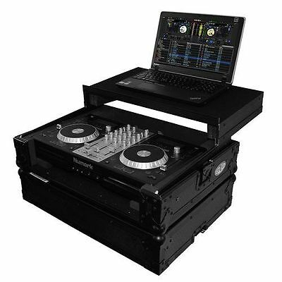 ProX XS-MIXDECKEXLTBL Black Travel Case For Numark Mixdeck Express+Laptop Shelf