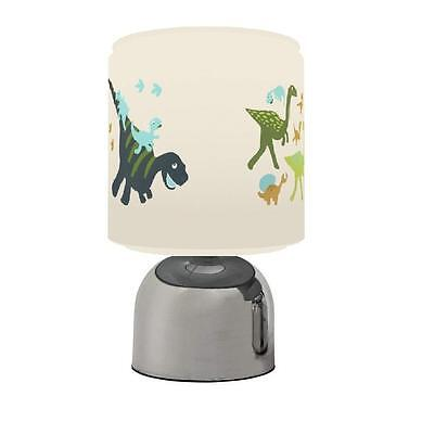 Little Dinosaurs Dino Touch Table Bedside Lamp Kids Room Brand New