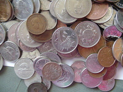 Canada Coins Mixed Lot $134.07 Face Value