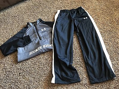 Under Armour Boy's JacKet & Pants Youth Large 14/16