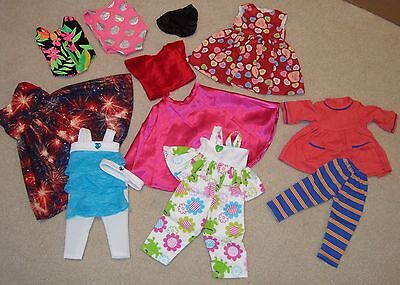 """lot of  18"""" doll clothes fits AMERICAN GIRL DOLLS - BRAND NEW CONDTION OUTFITS"""