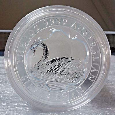 Sealed Roll (20 coins) of 2017 Australia Swan 1 oz Silver FREE S/H ONLY $45/coin
