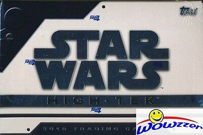 (4) 2016 Topps Star Wars HIGH TEK Factory Sealed HOBBY Box-4 ON CARD AUTOGRAPH