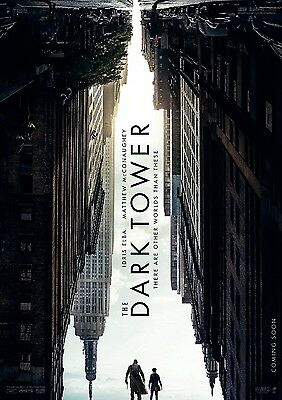 """Stephen King's DARK TOWER 2017 Advance Teaser DS 2 Sided 27X40"""" US Movie Poster"""