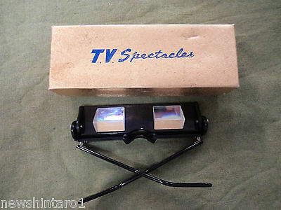 #bb. Tv Spectacles / Glasses With Prism Lenses To Watch Television Laying Down