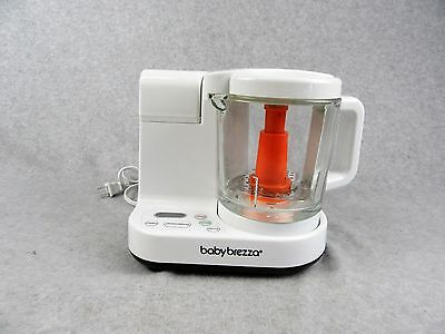 Baby Brezza Food Maker Glass Large 4 Cup Capacity White Baby Food Processor
