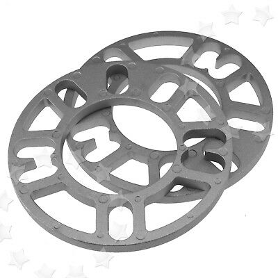 2X Universal 10Mm Alloy Aluminum Wheel Spacers Shims Plate 4&5 Stud