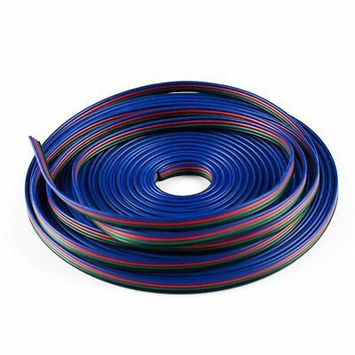 SUPERNIGHT® 10M 4-Pin Female Wire Extension Cable Line For RGB LED Strip Light
