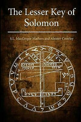The Lesser Key of Solomon by Aleister Crowley Paperback Book (English)