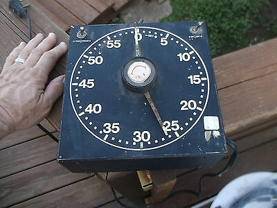Gralab Darkroom Timer Model 300, Good Working Condition, Including Buzzer