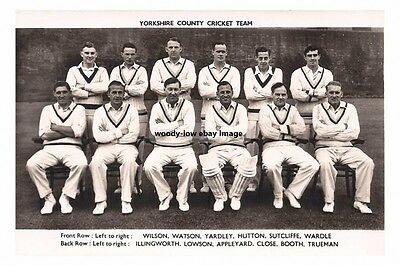 rp15778 - Yorkshire County Cricket Team - photo 6x4