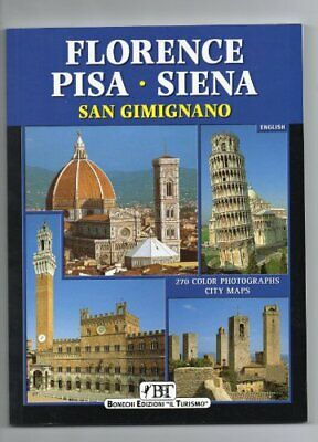 Florence, Pisa, Sienna and San Gimignano Paperback Book The Cheap Fast Free Post