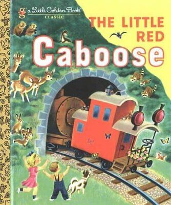 The Little Red Caboose (210-61) (Little Golden Book) by Marian Potter Hardback