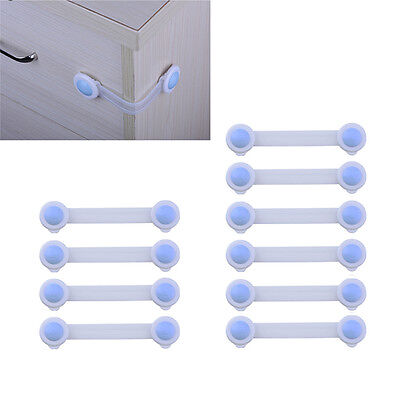 10X Baby Kids Box Drawer Cupboard Cabinet Wardrobe Door Fridge Safe Safety Lock