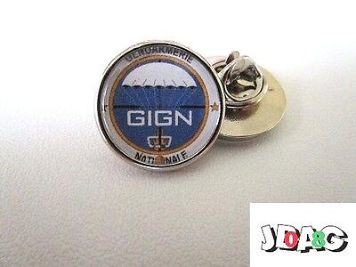 Pins Pin's Badge Gign Gendarmerie Nationale France - Finition Argent Ou Or