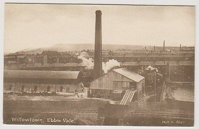 Wales postcard - Willowtown, Ebbw Vale