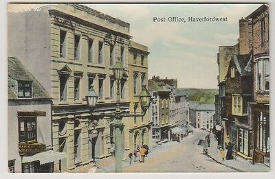 Wales postcard - Post Office, Haverfordwest - RP