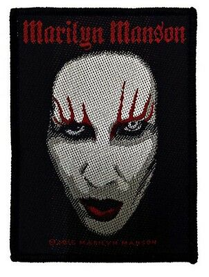MARILYN MANSON - Face Patch Aufnäher 10x8cm